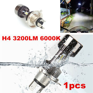 1pc Motorcycle H4 LED Headlight Bulb Conversion Kit High Low Beam 3200LM 30W