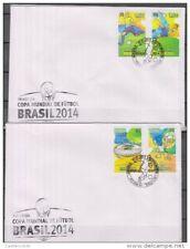 O) 2014 World Cup Soccer Brazil 2014 - Football., Fdc Xf ( jun. 2015)