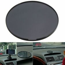 80mm Black Car Dash Dashboard Adhesive Sticky Suction Cup Mount Disc Disk Pad