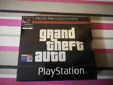 GRAND THEFT AUTO COLLECTOR'S EDITION SONY PLAYSTATION PS1 PSX PS ONE PAL NEW