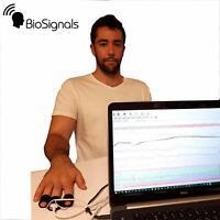 USB Polygraph BiO Nano Version with 2 Sensors BioSignals Technology from ISRAEL
