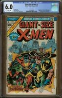 Giant-Size X-Men #1 CGC 6.0 1st New X-Men 2nd Wolverine  #1997074002