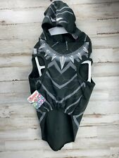 Black Panther Dog Costume Marvel Avengers Size L Large NWT Halloween Fun Hooded