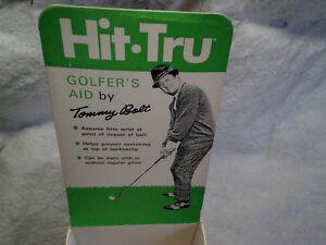 1970 TOMMY BOLT EMPTY BOX Hit Tru Golf Golfers Aid,empty box only,professional