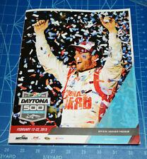 2015 Daytona 500 Official Program. MINT.  DALE EARNHARDT JR. GORDON FINAL LOGANO