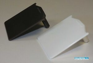 Extended Clip-in End Cap PVC - for use with 25-35mm Rafter Bar   White or Brown