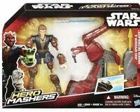 STAR WARS - HERO MASHERS - JEDI SPEEDER & ANAKIN SKYWALKER  Ew In Box Disney Pop