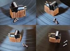 Wooden Body f. SHURE V15 Type III Cartridge Tonabnehmer z.B. für SME 3009 3012