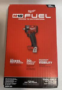 "Milwaukee 2854-20 M18 3/8"" Drive Compact 4.9"" Impact Wrench Bare Tool NEW"