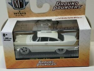 M2 MACHINES 1958 PLYMOUTH FURY GROUND POUNDERS R20 20-06 BRAND NEW 1 OF 7,000