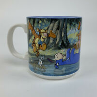 Disney Classics Collection Winnie The Pooh Floating Eeyore River Vintage Mug New