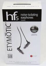 Etymotic Research HF5 Portable In-Ear Earphones Black