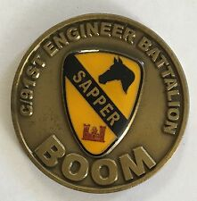 US Army C/91st Engineer Battalion BOOM Sapper WWII The ROCK Bosnia / SFOR5