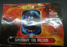 Doctor Who Super Shape Tardis Foil Balloon 74cm x 56cm Brand New