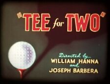 Tom and Jerry Super 8mm sound film 'Tee For Two'.