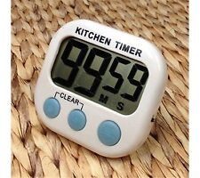 1 pc New Large Lcd Kitchen Cooking Timer Count Down Up Clock Loud Alarm Magnetic
