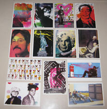 13 Mr. Brainwash Postcards Part 1 Icons Lennon Spock Dali Mickey Mouse Campbells