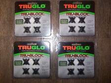 Lot of 16 TruGlo Tru Block String Silencers Hunting Target Archery Fits All Bows