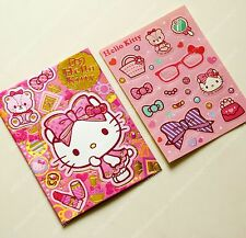Sanrio Hello Kitty Chinese New Year Red packet pocket 6pc envelope 6pc sticker