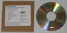 Kaiser Chiefs  Education, Education, Education, & War U.S. promo cd  card sleeve