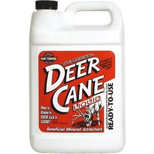 6 Pk Gallon Liquid Deer Cane Buck Deer Mineral Bait Attractant 21394