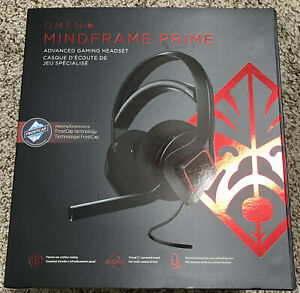 Brand New HP OMEN - Mindframe Prime Wired Gaming Headset - Black Factory Sealed