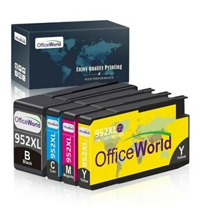 OfficeWorld Remanufactured Ink Cartridge Replacement for HP 952XL Ink Cartridges