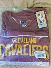 Cleveland Cavaliers NBA Long Sleeve TShirt Maroon  Mens Size 3XLT NWT 60/40