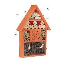 Insektenhotel Nisthilfe Artenschutz Balkon Terrasse Garten Wildbienen