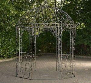 Pavillon Eisen Bronze Rankhilfe Pergola Rosenbogen Rankgitter Gartenpavillon