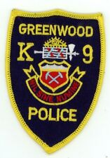 GREENWOOD COLORADO CO POLICE K-9 COLORFUL PATCH SHERIFF