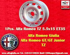 1 Cerchio Alfa Romeo Giulia TI TZ Giulietta 5.5x15 ET35  Wheel Felge jante TUV