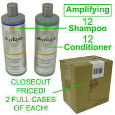 CLOSEOUT! NEW PHYSIQUE AMPLIFYING 12 BOTTLES SHAMPOO & 12 BOTTLES CONDITIONER
