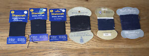 6x Vintage Chadwick's Stancraft +1 More wool/nylon reinforcing &  mending thread