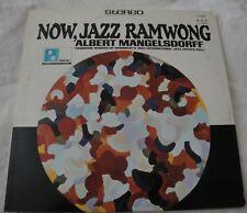 NOW JAZZ RAMWONG ALBERT MANGELSDORFF VINYL LP ALBUM 1966 PACIFIC JAZZ RECORDS EX