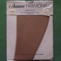 Aristoc Harmony FULLY FASHIONED Point Seam VINTAGE Stockings Allure LARGE Sze 11