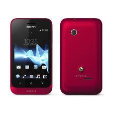Sony XPERIA Tipo ST21i - Red  (Unlocked) Smartphone - Grade B - Warranty