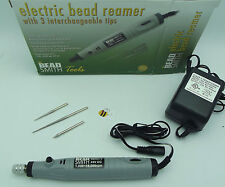 BEADSMITH Electric Bead Reamer BR213 24V 3 Diamond Tips Variable Speed Tools