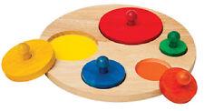 Children's Puzzle Manipulatives Guidecraft Circle Sorter G526