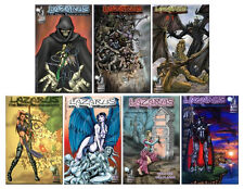 Lazarus: The Many Reincarnations  Lodestone Press Lot: Issues 1 thru 7