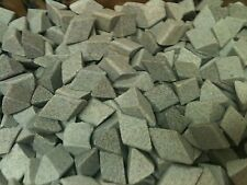 """Ceramic Tumbling Media 3 pounds of 3/8"""" x 3/8"""" Sf Triangles"""