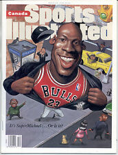 CANADA Sports Illustrated 1995 MICHAEL JORDAN Chicago Bulls Basketball NO LABEL