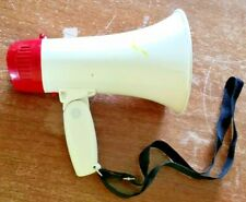 WESTERN SAFETY MEGAPHONE ITEM #92822 HAS SETTING FOR ALARM AND SPEAK-WORKS