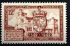FRANCE RATTACHEMENT DU DAUPHINE TIMBRE NEUF N° 839  **  MNH 1949    B4