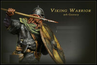 1/12 Unpainted Viking Soldier Resin Bust Model Kits GK Unassembled