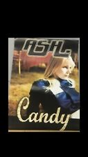 ASH CANDY RECORD SHOP PROMOTIONAL POSTER