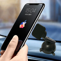 Universal In Car Magnetic Phone Holder fits Dashboard 360° Mount Cradle Stand