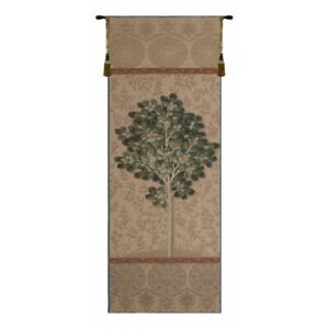 "Chene Naturel French Tapestry Wall Hanging H 73"" x W 29"""