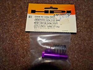 HPI 86319 STEERING POST 12X47mm(PURPLE) - NEW