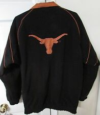 NCAA Texas Longhorns Reversible Jacket Large 2 Jackets in 1